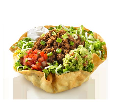 Download Taco Salad Tortilla Bowl HQ PNG Image | FreePNGImg