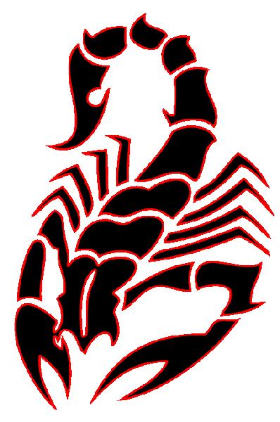 Scorpion Heart Tattoo Designs