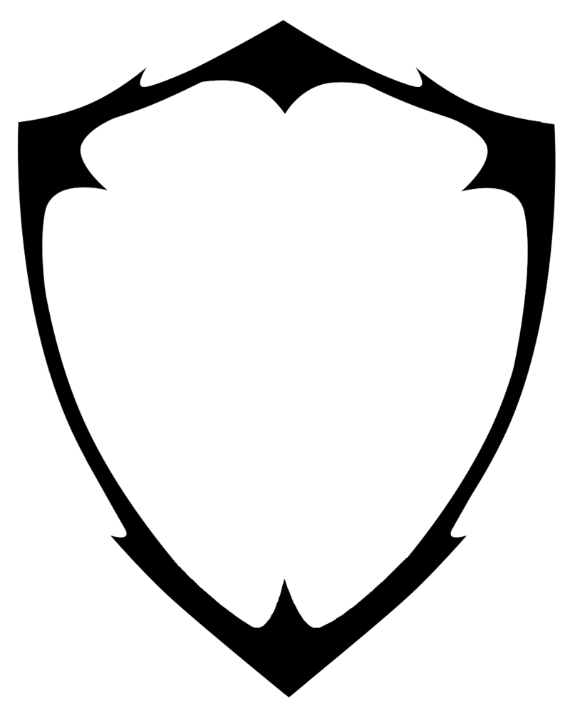 download blank shield logo vector hq png image freepngimg
