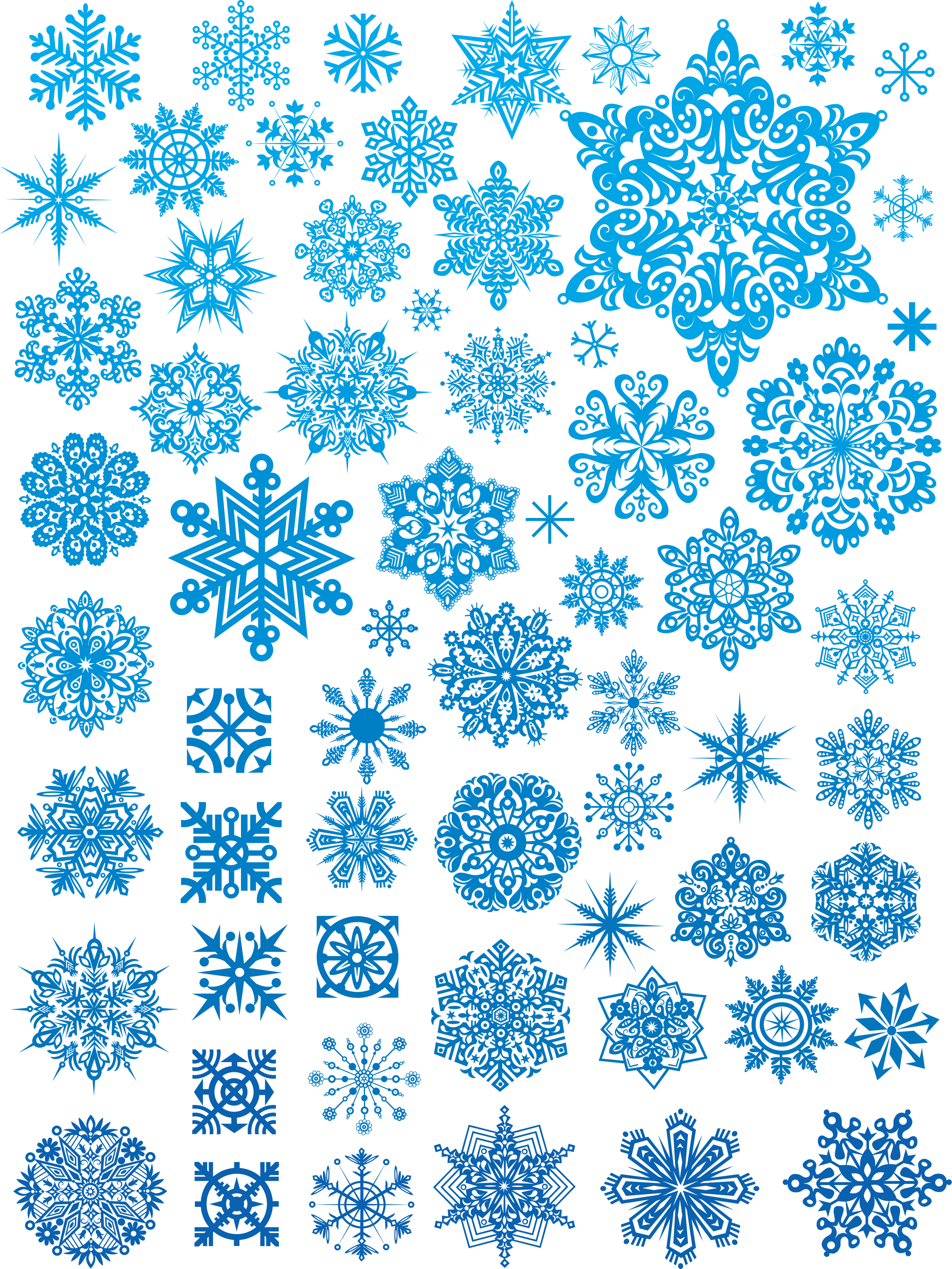 Snowflakes Png Image PNG Image