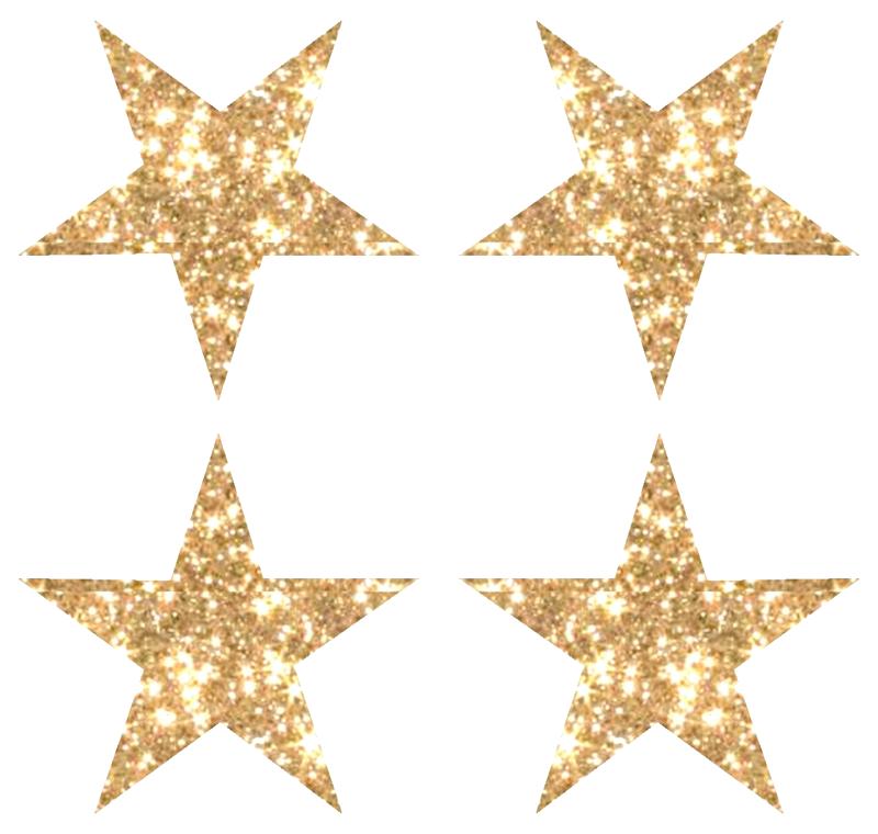 Download Gold Glitter Star Image HQ PNG Image   FreePNGImg