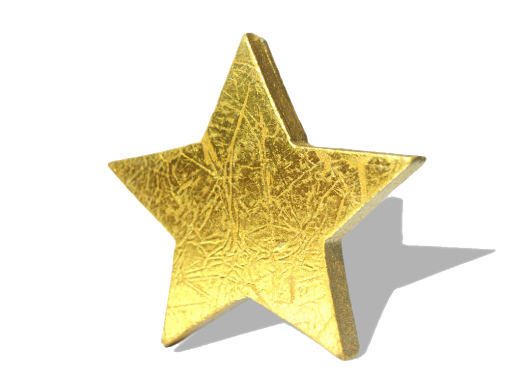 Download 3D Gold Star Hd HQ PNG Image in different ...