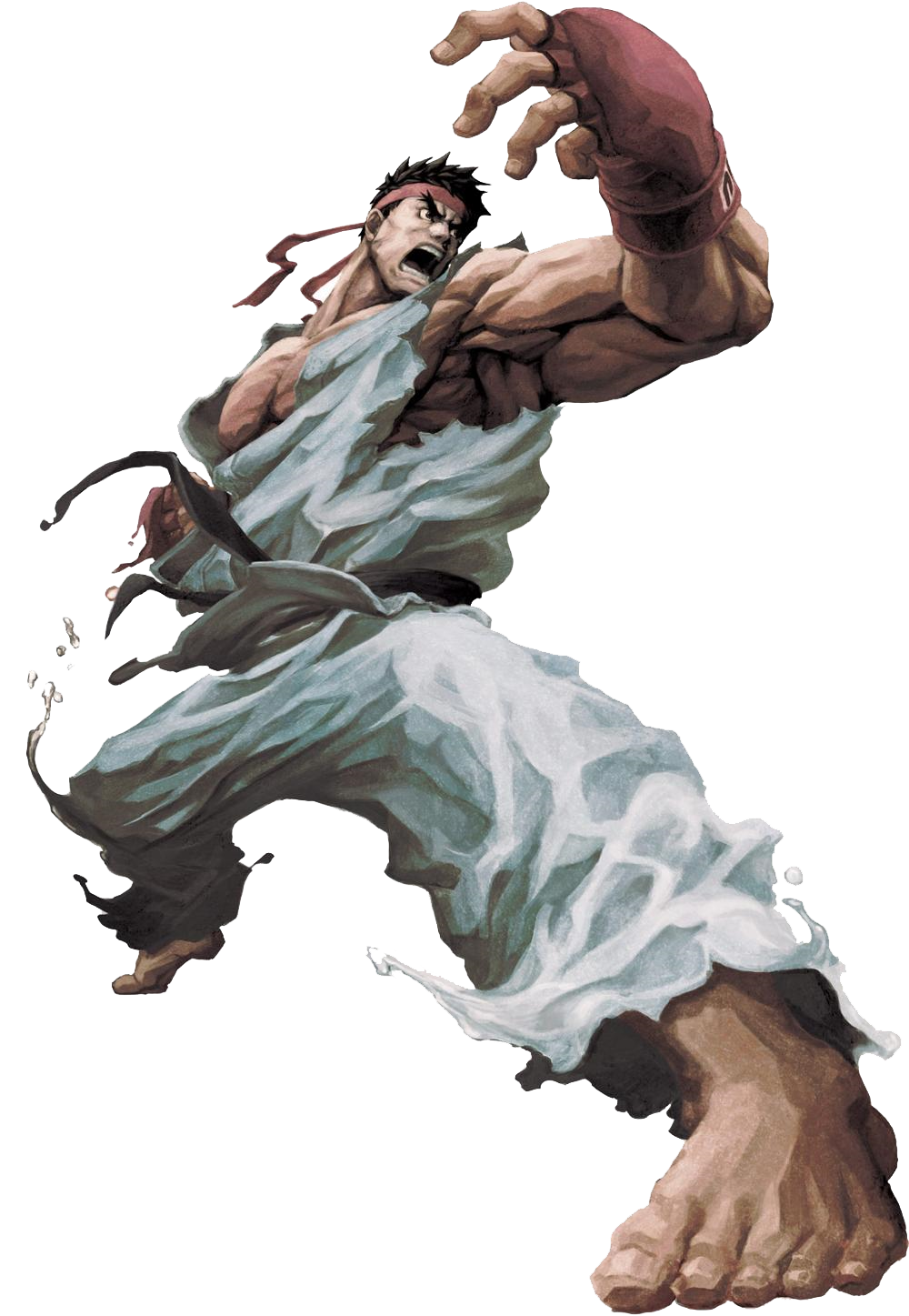 Ryu Transparent Background PNG Image