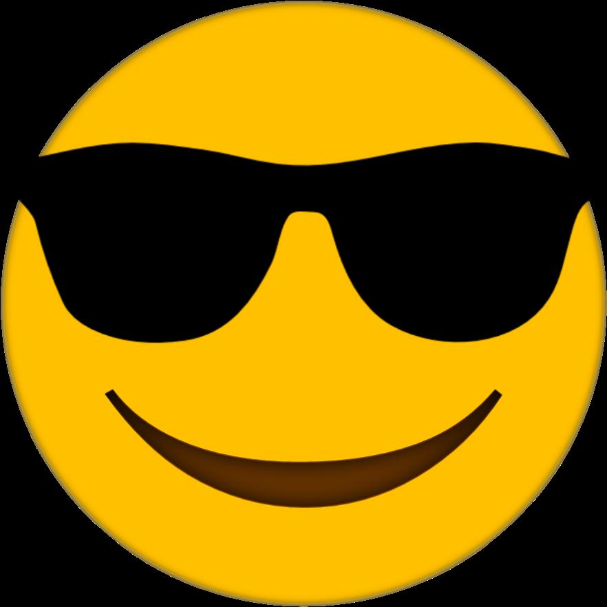 Download Sunglasses Emoji Transparent Image HQ PNG Image ...