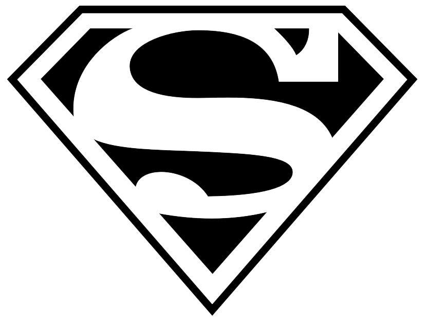 Superman Logo Clipart PNG Image