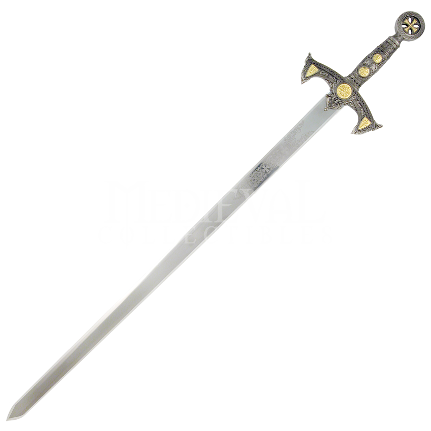 Knight Sword Transparent Background PNG Image
