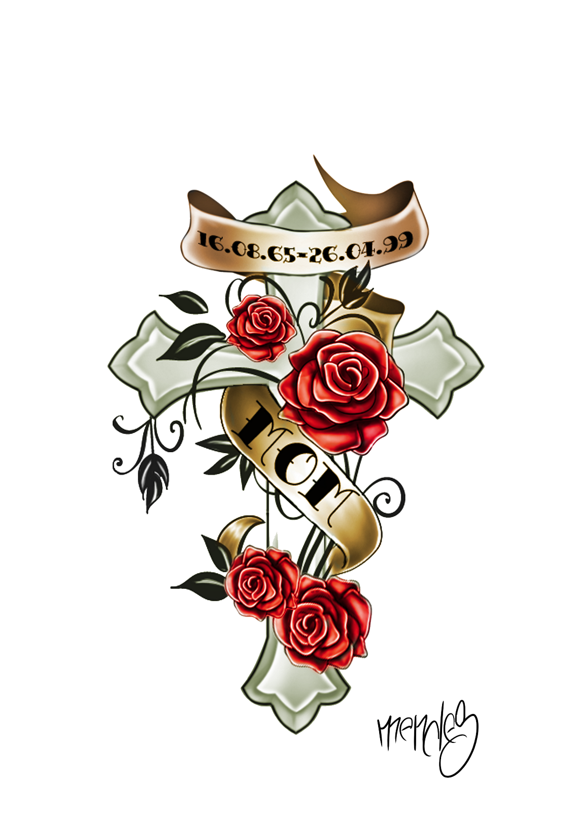 Tattoo Png Aesthetic Hd: Download Color Tattoo Hd HQ PNG Image