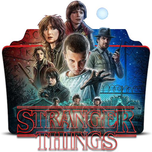 Album Television Stranger Show Things Cover Game PNG Image
