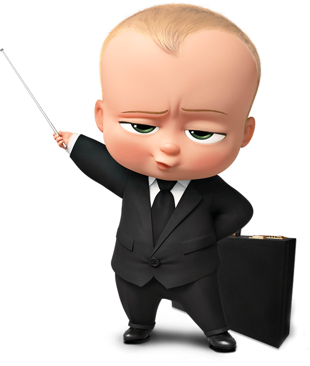 The Boss Baby Transparent PNG Image