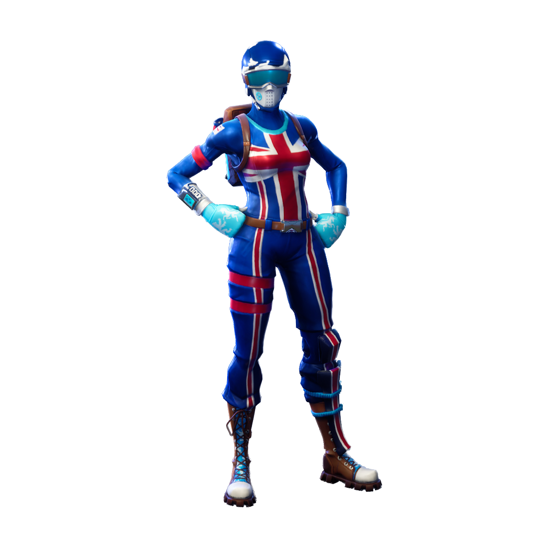Blue Toy Electric Royale Game Fortnite Battle PNG Image