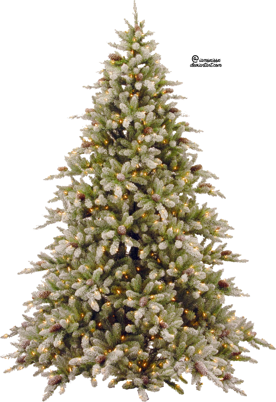 Christmas Tree Transparent PNG Image