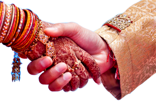 Wedding Couple Transparent PNG Image