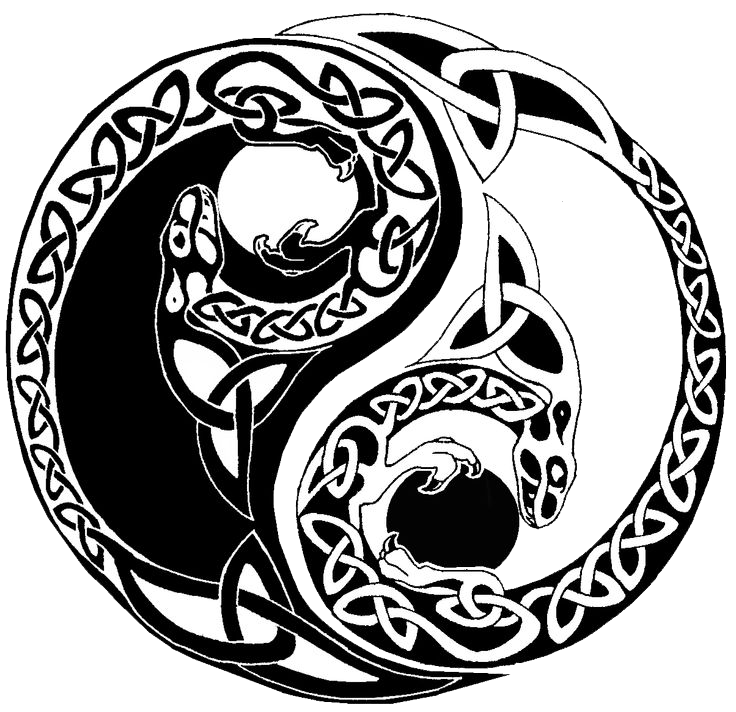 Download yin yang tattoos picture hq png image freepngimg - Tatouage ying yang ...