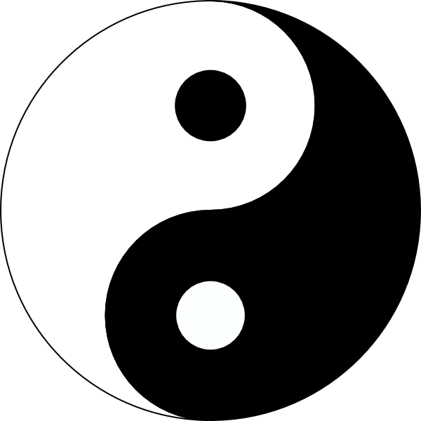 download yin yang tattoos free png image hq png image freepngimg rh freepngimg com Cool Yin Yang Colorful Yin Yang