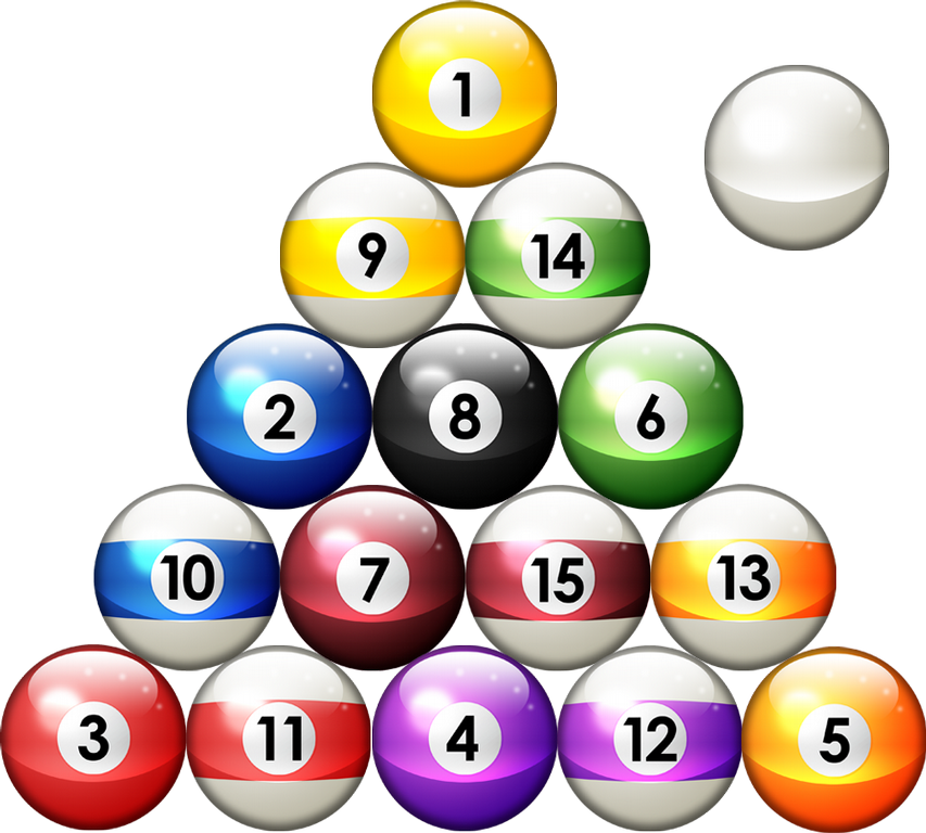 8 Ball Pool Transparent Image PNG Image