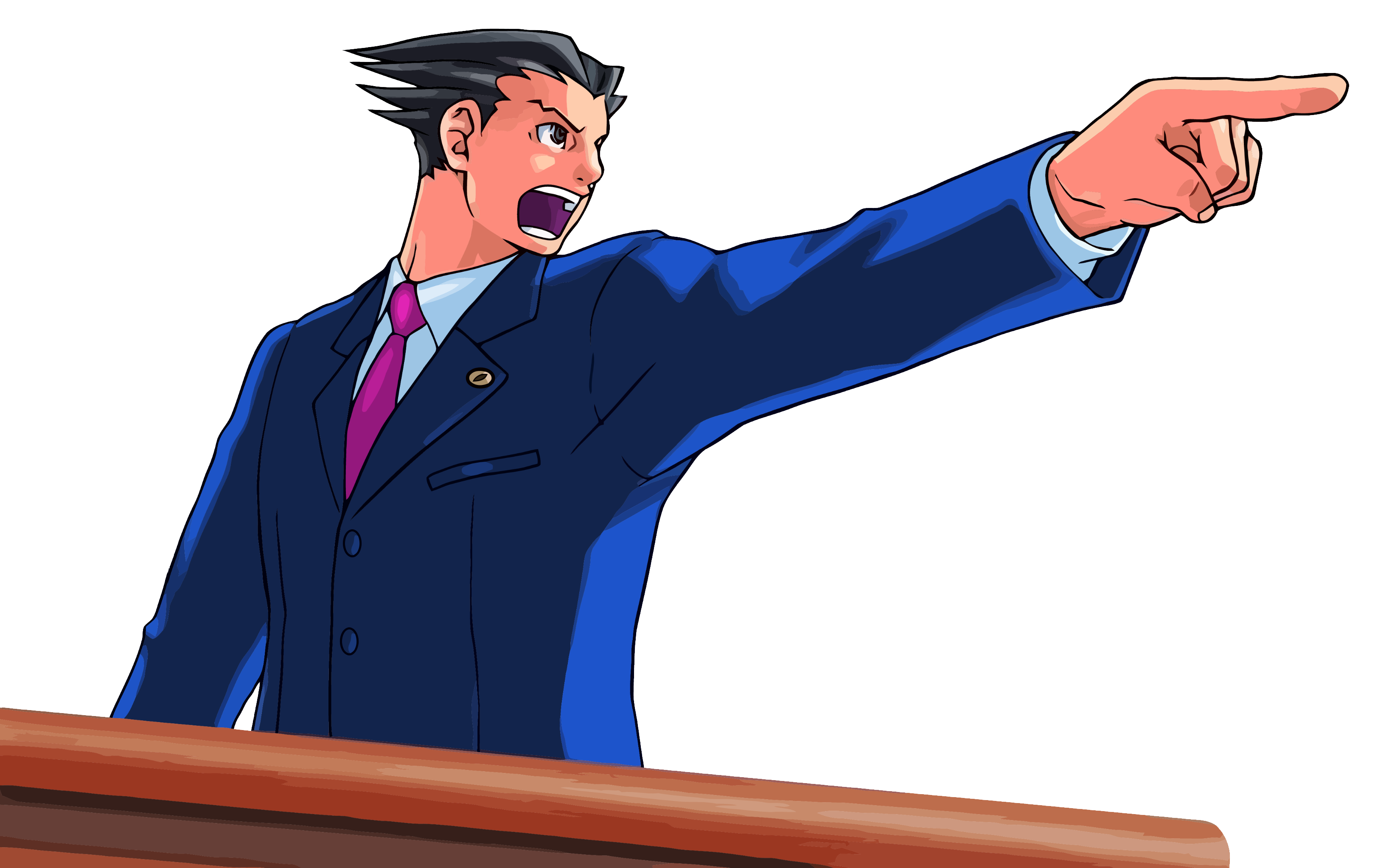 Ace Attorney Png Image PNG Image