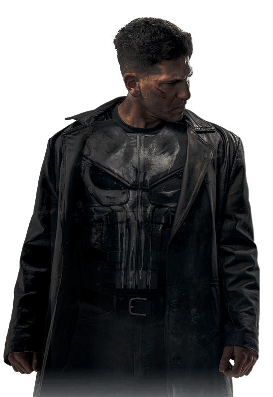 Punisher Outerwear Universe Cinematic Textile Daredevil Season PNG Image