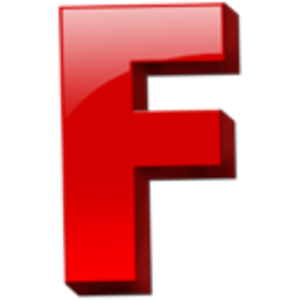 F Alphabet Png PNG Image