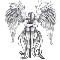 Angel Tattoos Png Clipart PNG Image
