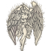 Angel Tattoos Png Image PNG Image