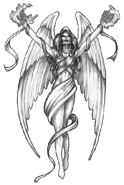 Angel Tattoos Png Picture PNG Image