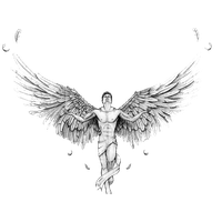Angel Tattoos Transparent PNG Image