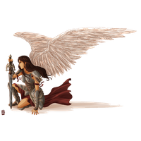Angel Warrior Free Png Image PNG Image