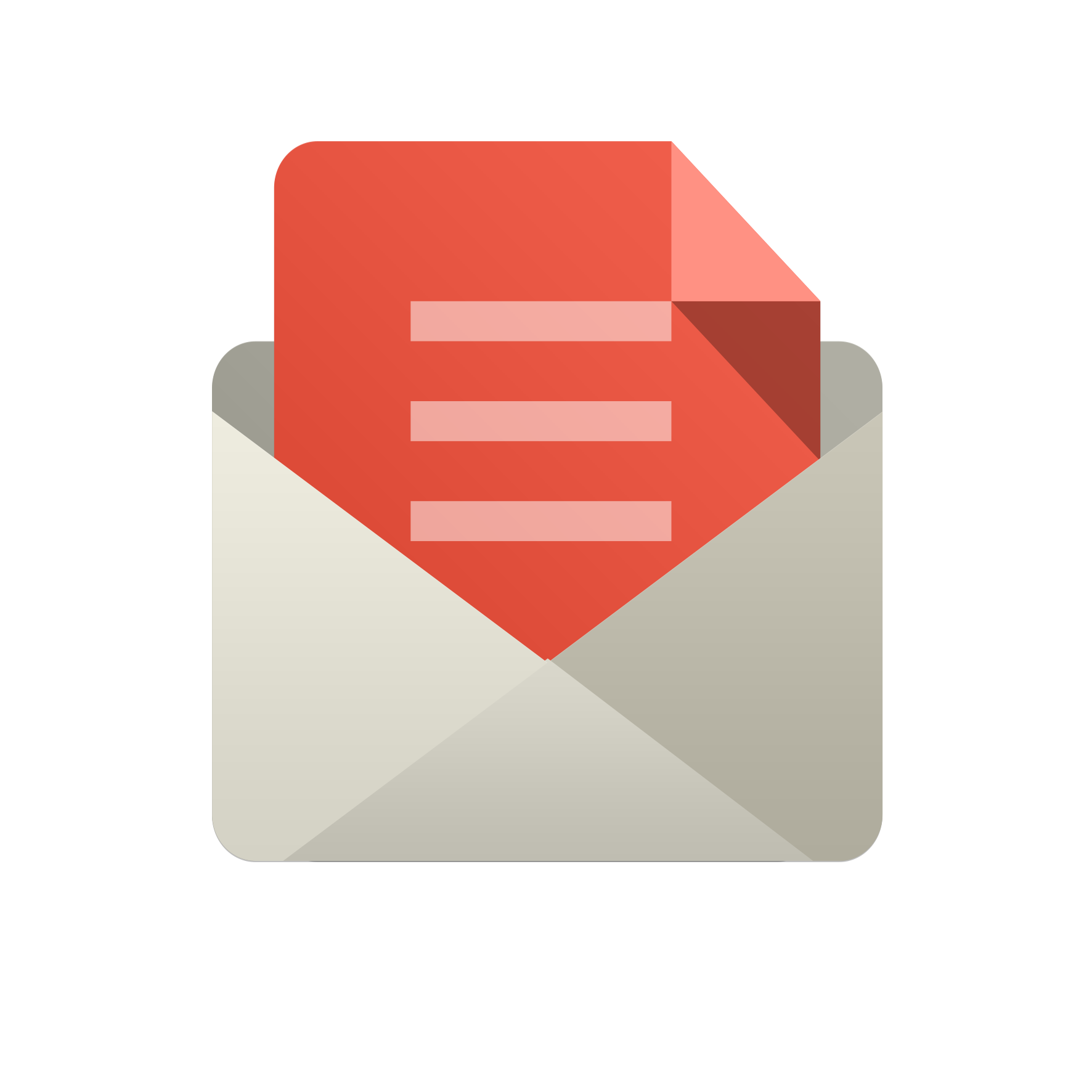 Info Phone Animation Gmail Email Icon PNG Image