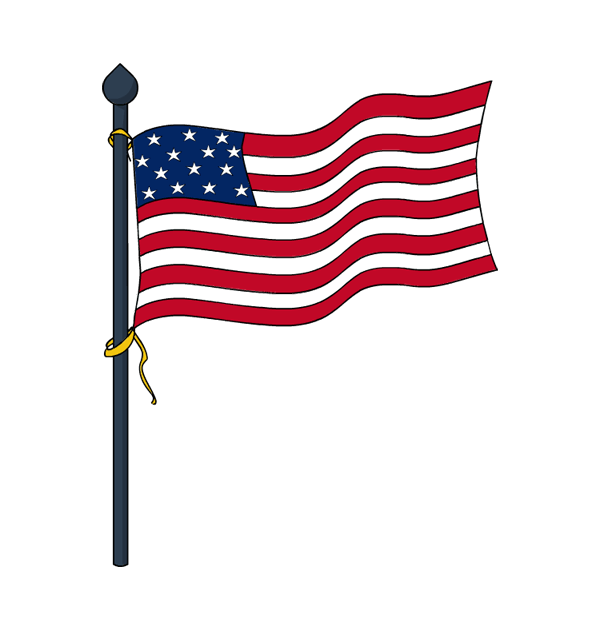 Memorial United Area Of States Flag The PNG Image