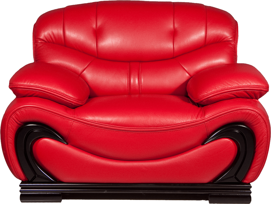 Red Armchair Png Image PNG Image