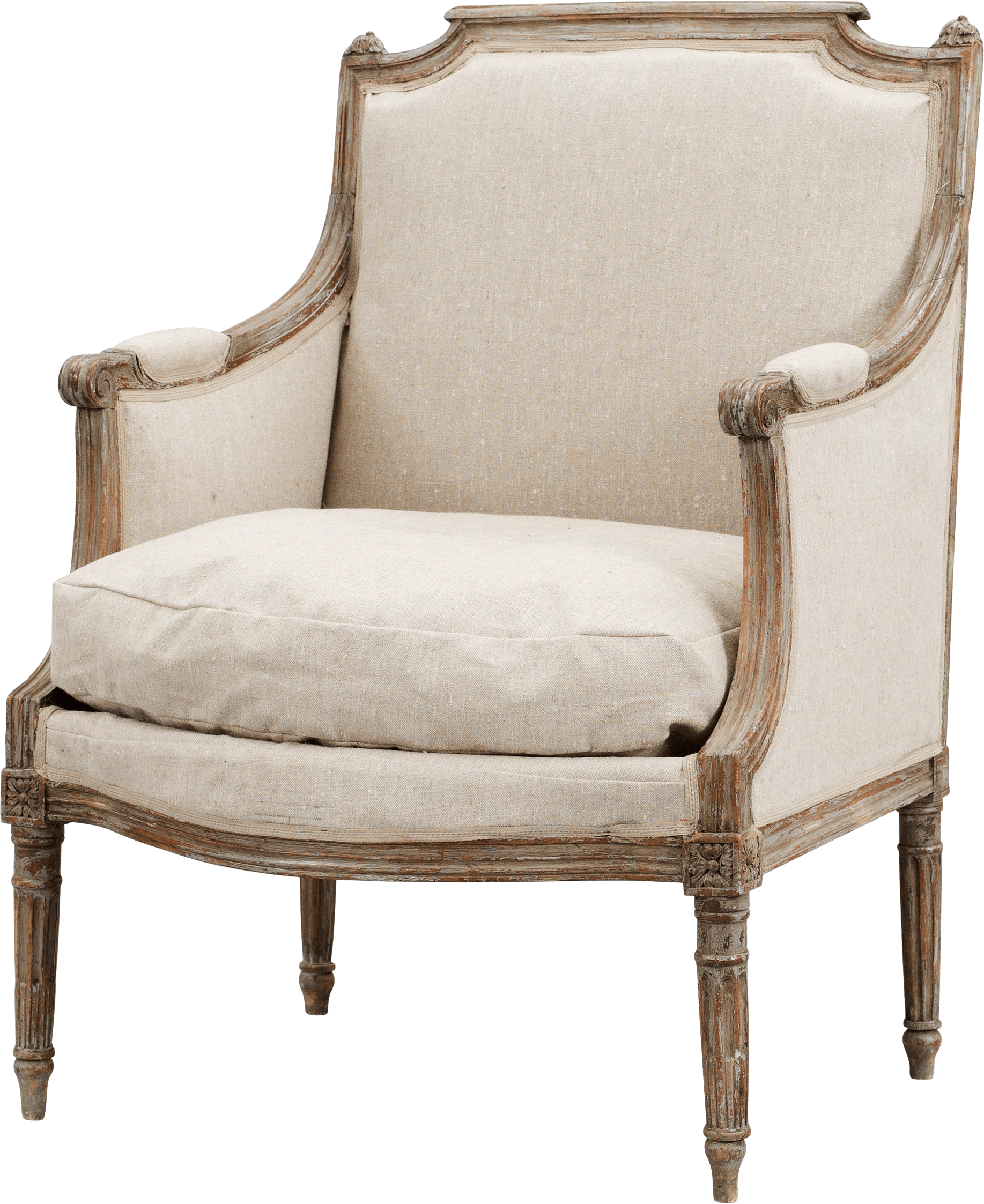 White Armchair Png Image PNG Image