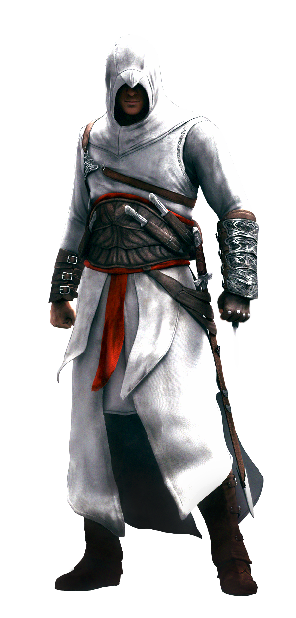 Altair Assassins Creed File PNG Image