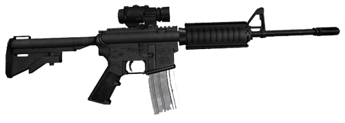 M4 Assault Rifle Png PNG Image
