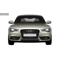 Audi Car Front View PNG Image