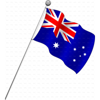 Australia Flag Png Pic PNG Image