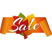 Download Autumn Discount Vector Sale Free Clipart HD HQ PNG Image |  FreePNGImg