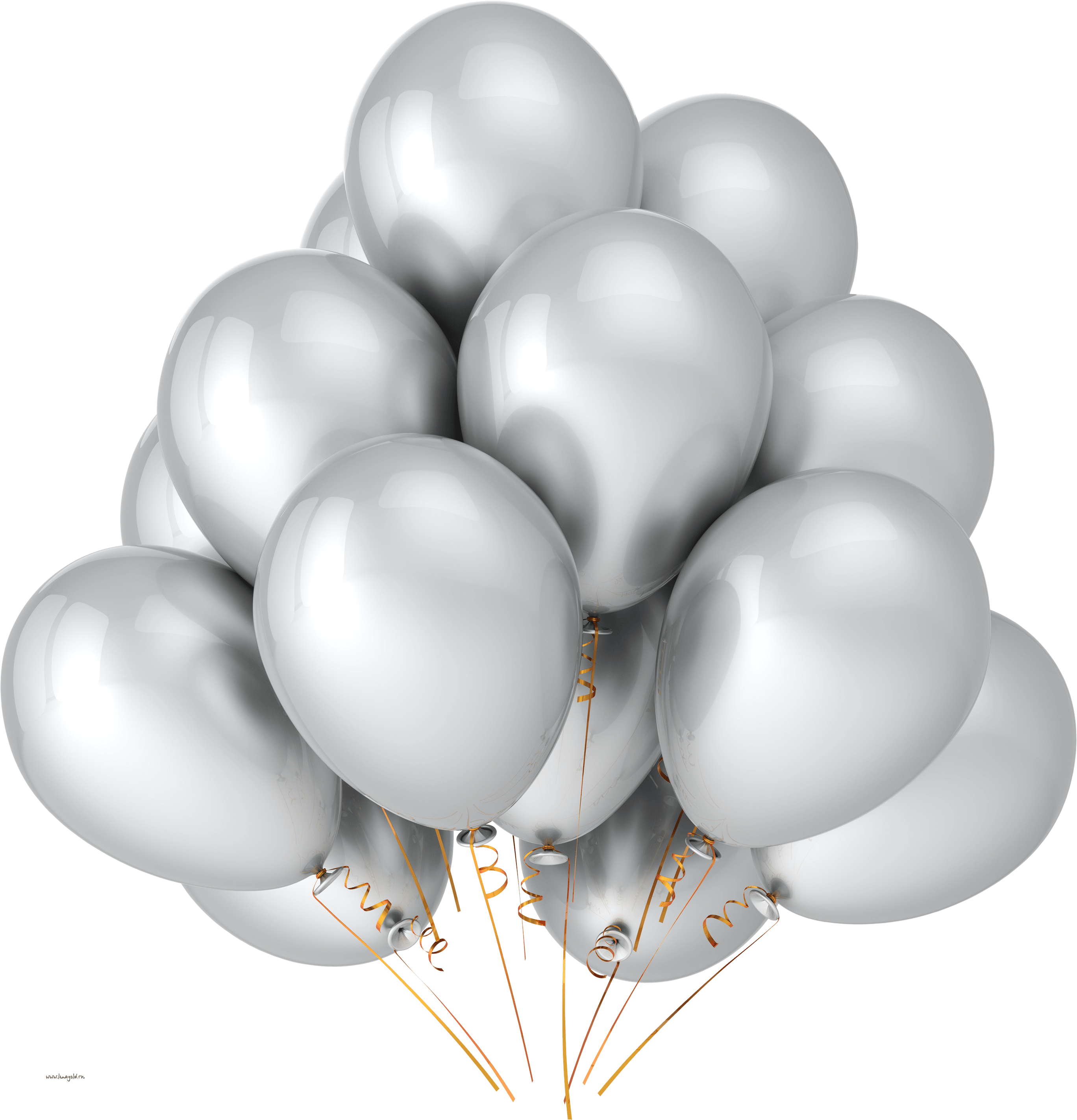 Yellow Balloons Png Image Download Balloons PNG Image