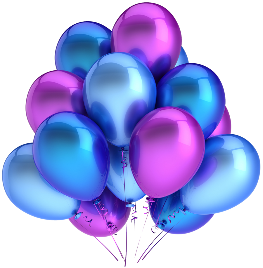 Balloons Clipart PNG Image