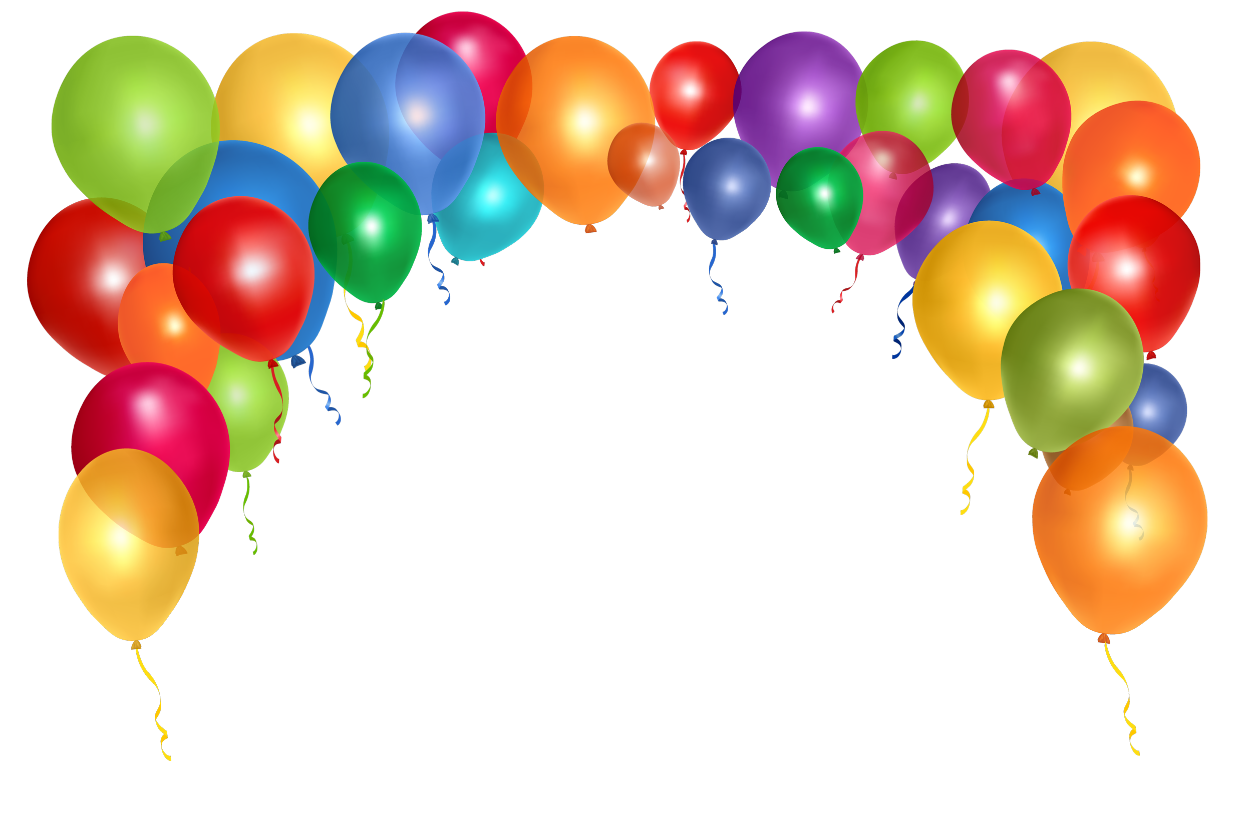 Balloons Free Download PNG Image