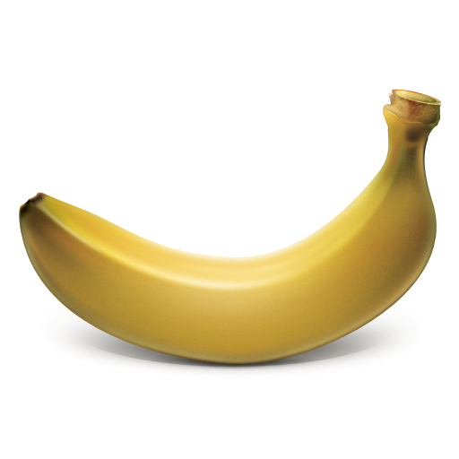 Banana Cartoon Icon PNG Image