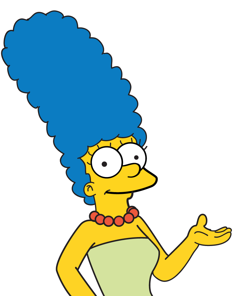 Homer Art Area Marge Lisa Simpson PNG Image