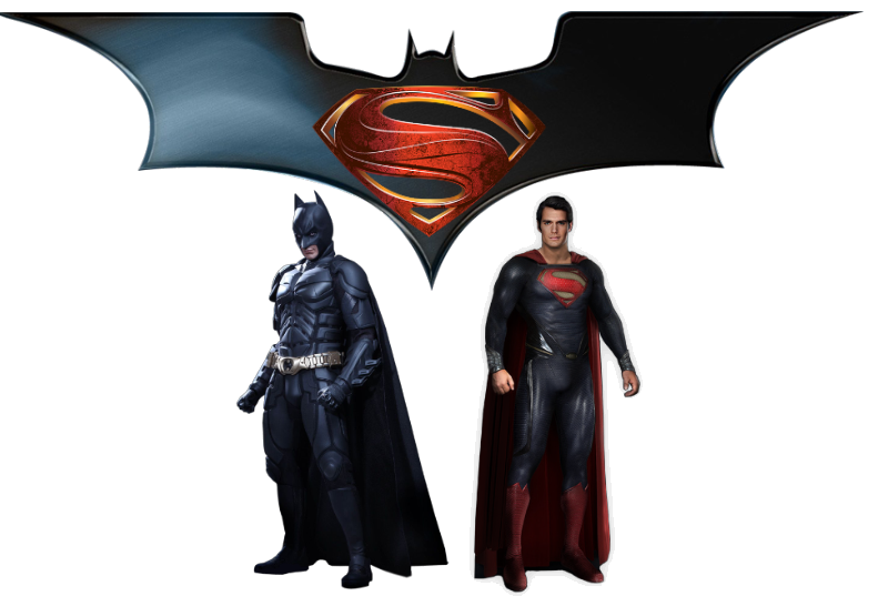 Batman Vs Superman Transparent Picture PNG Image