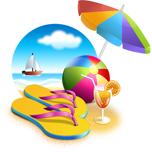 Beach Picture PNG Image