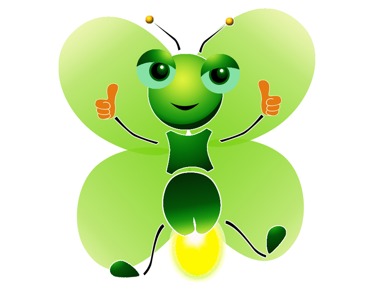 Butterfly Light Leaf Cartoon Free Download PNG HQ PNG Image