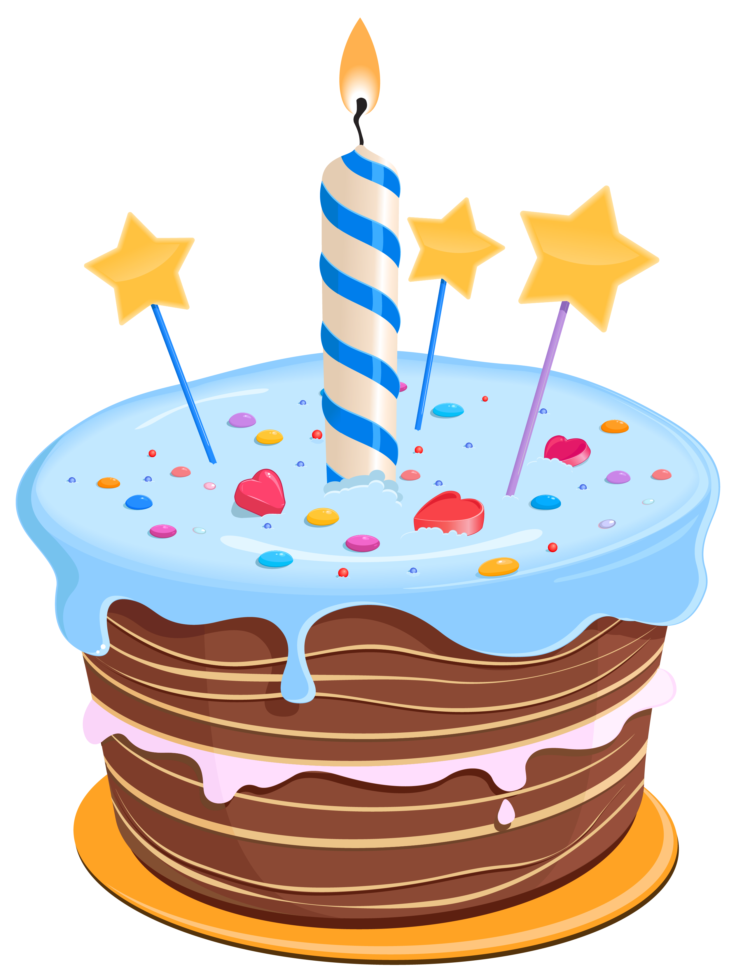 Birthday Cake Clipart Illustrations Royaltyfree Vector