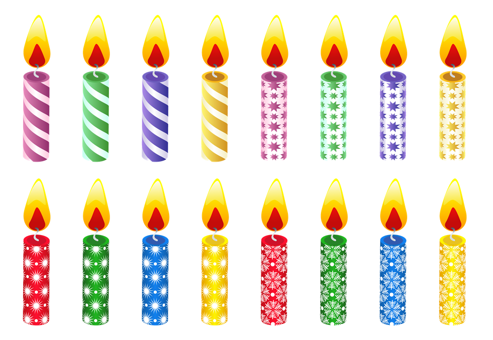 Birthday Candles Png Hd PNG Image