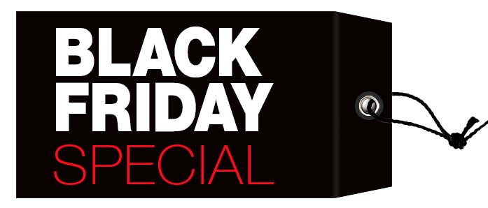Black Friday Transparent PNG Image