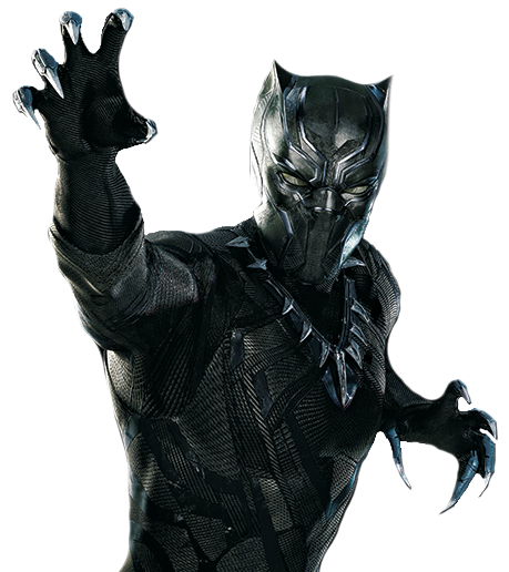 Black Panther Clipart PNG Image