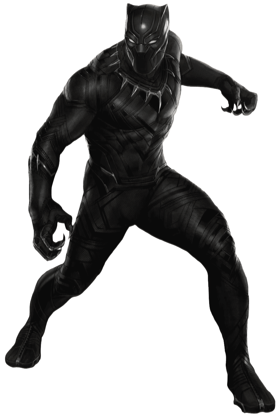 Panther Dreamcatcher Black Costume Iron Suit Clothing PNG Image