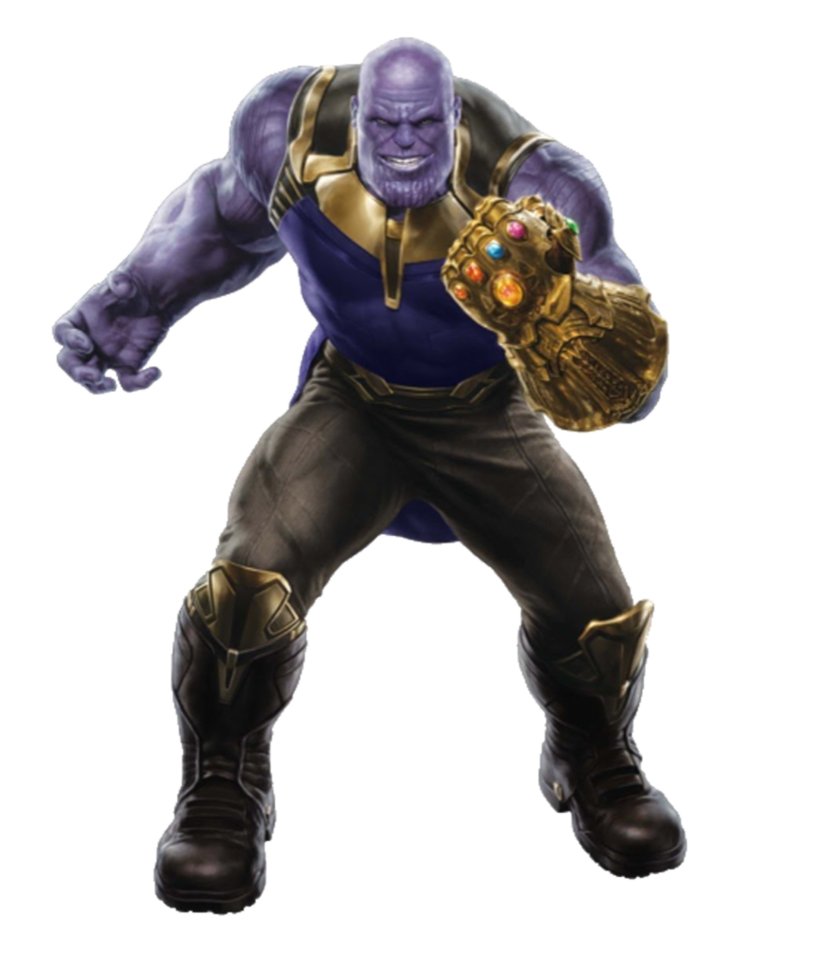 Figure Panther Figurine Black Iron Action Thanos PNG Image